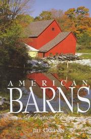 Cover of: American barns
