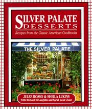 Cover of: Silver Palate desserts