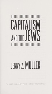 Cover of: Capitalism and the Jews
