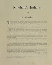 Cover of: Rinehart's Indians
