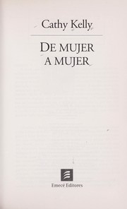 Cover of: de Mujer A Mujer