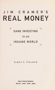 Cover of: Jim Cramer's real money