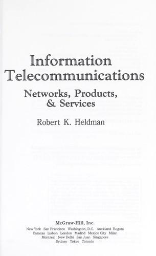 Information telecommunications
