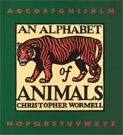 Cover of: An alphabet of animals