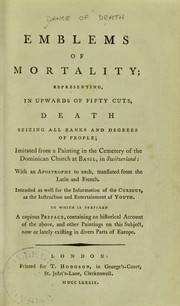 Cover of: Emblems of mortality