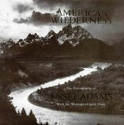Cover of: America's Wilderness: The Photographs of Ansel Adams