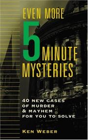 Cover of: Even more five-minute mysteries