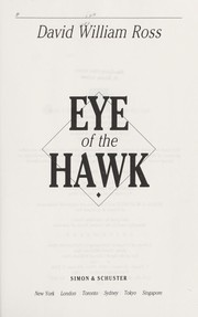 Cover of: Eye of the hawk | David William Ross