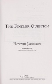 Cover of: The Finkler question
