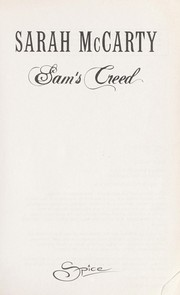 Cover of: Sam's Creed