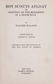 Cover of: Boy scouts afloat | Walter Walden
