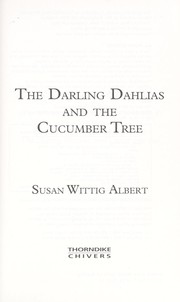 Cover of: The Darling Dahlias and the cucumber tree