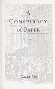 Cover of: A conspiracy of paper