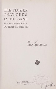 Cover of: The flower that grew in the sand