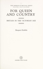 Cover of: The Queen and country: Britain in the Victorian Age