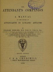Cover of: The attendant's companion