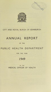 Cover of: [Report 1949]