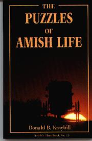 Cover of: The puzzles of Amish life