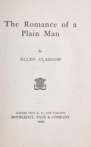 Cover of: The romance of a plain man