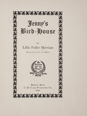 Cover of: Jenny's bird-house