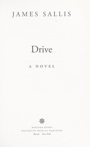 Cover of: Drive : a novel |