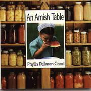 Cover of: An Amish table
