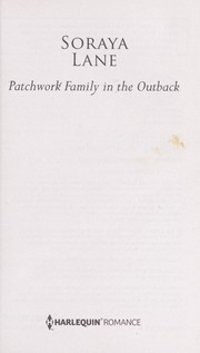 Cover of: Patchwork Family in the Outback  (Bellaroo Creek! #3)