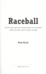 Cover of: Raceball | Rob Ruck