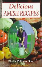 Cover of: Delicious Amish recipes