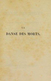Cover of: La danse des morts