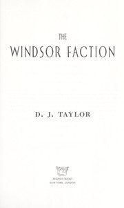 Cover of: The Windsor faction