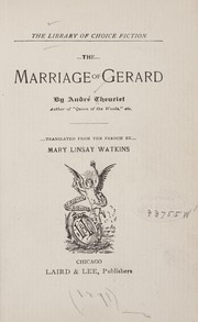 Cover of: The marriage of Gerard