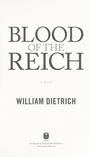 Cover of: Blood of the Reich