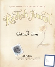 Cover of: Rachel's journal : the story of a pioneer girl |