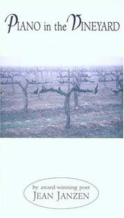 Cover of: Piano in the vineyard: poems