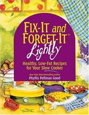 Cover of: Fix-It & Forget-It Lightly