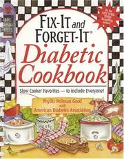 Cover of: Fix-It and Forget-It Diabetic Cookbook