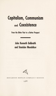 Cover of: Capitalism, communism, and coexistence