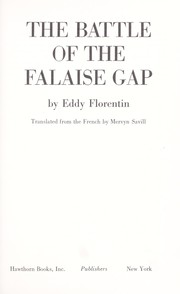 Cover of: The Battle of the Falaise Gap