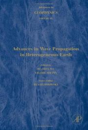 Cover of: Advances in Wave Propagation in Heterogenous Earth by