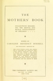 Cover of: The mothers' book