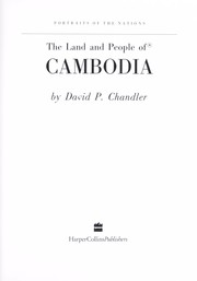 Cover of: The land and people of Cambodia