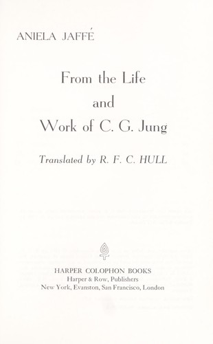 From the life and work of C. G. Jung.
