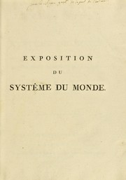 Cover of: Exposition de syst©·me du monde