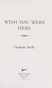 Cover of: Wish you were here