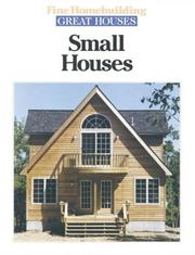 Cover of: Small houses. |