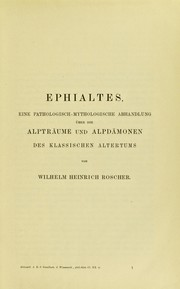 Cover of: Ephialtes