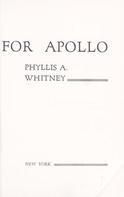 Cover of: Seven Tears for Apollo