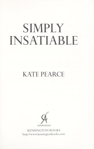 Simply Insatiable by