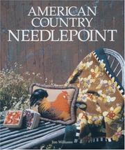 Cover of: American country needlepoint